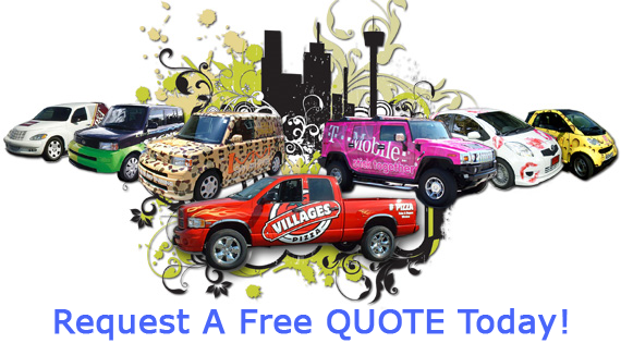 Vehicle Wraps San Antonio