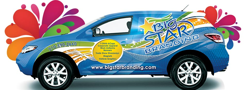 San Antonio's Best Vehicle Wraps and Banners!