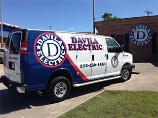 Davila Electric - Partial Wrap