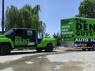 The Dent Guys - Truck and Trailer Full Wrap
