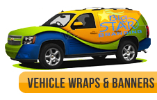 San Antonio Car Wraps Signs and Banners